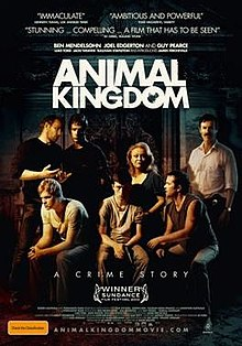 Poster for the 2010 Australian movie Animal Kingdom